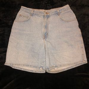 Vintage Gitano high waist denim jean shorts